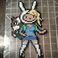 Adventure Time Fionna hama beads by michelle