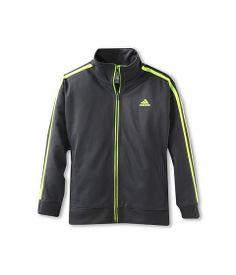 adidas Kids Elite Jacket (Toddler/Little Kids) Mercury Grey/Electricity - 6pm.com