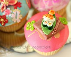 cupcake d'lights {South Africa}: japanese inspired cupcakes