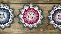 Crochet Winter Mandala Free Crochet Pattern & Paid Holton HPhotos above © Crochet Millan This crochet pattern / tutorial is available for free.Häkeln Sie Wintermandala frei Häkelanleitung - Best DIY Ideas For HomeThis Pin was discovered by Kat I hope Bag Crochet, Crochet Home, Thread Crochet, Crochet Crafts, Crochet Doilies, Yarn Crafts, Crochet Flowers, Crochet Stitches, Crochet Projects