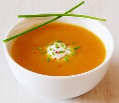 מרק כתום – מרק בטטה וגזר כתום וקטיפתי
