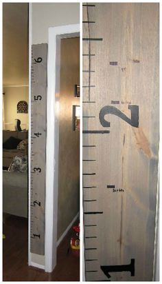 Giant Ruler Growth Chart - A Birthday Gift to Grow On! | Crafted Niche - a lifestye blog that shares DIY crafts, recipes and tutorialsCrafted Niche – a lifestye blog that shares DIY crafts, recipes and tutorials