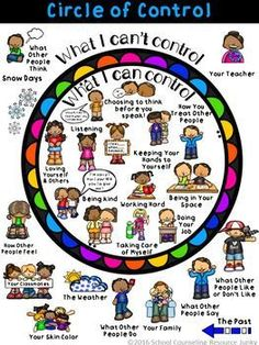 Early Elementary Counseling: What Are Things I Can Control & I Can't Control Early Elementary Counseling: What Are Things I Can Control & I Can't Control,Psychologie Related posts:Social Emotional Learning Activities - Class Challenge. Elementary Counseling, Counseling Activities, School Counselor, Therapy Activities, Elementary Schools, Anger Management Activities For Kids, Group Counseling, Mindful Activities For Kids, Special Education