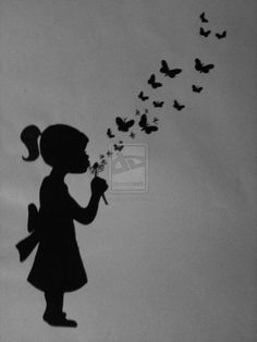 make a wish in the Dandeflies by Dirtyrodriguez. on deviantART - Tat ideals - Blowing Dandelion, Mom In Heaven, Easy Drawings Sketches, Diy And Crafts, Paper Crafts, Make A Wish, How To Make, Sisters Art, Metal Garden Art