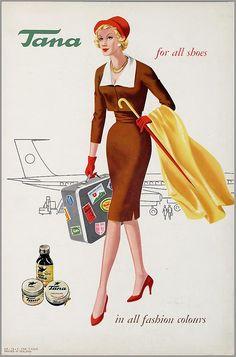 Tana Vintage Labels, Vintage Ads, Vintage Posters, Vintage Stuff, Old Advertisements, Advertising, All Fashion, Vintage Fashion, Fashion Illustration Vintage