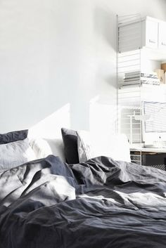 11 gorgeous grey beds for a warm and cozy bedroom - The Grey Home