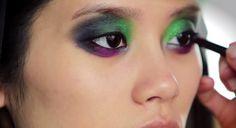 One of the most beautiful makeup i've ever seen <3 #lisa #eldridge #makeup