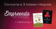 PATOÁ oferece Bolsas de Estudos Integrais + Mentoring + Livros