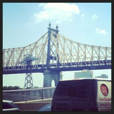 Queensboro Bridge as seen from the FDR Drive