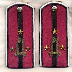 Imperial Russia White Army Shoulder Straps by on Etsy Felt Pictures, Selling On Pinterest, Imperial Russia, Army & Navy, Soviet Union, Eastern Europe, World War I, Wwi, Ukraine