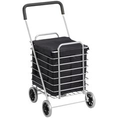 The Container Store > Aluminum Shopping Cart..or Multi purpose traveling needs! :)