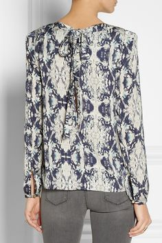 DAY Birger et Mikkelsen|Printed crepe blouse|NET-A-PORTER.COM