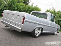 1968 Ford F-100 - Back
