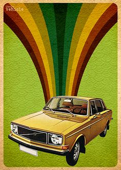 Uncle Vehicle Volvo Poster available here: www.posterbar.cz