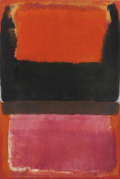 Mark Rothko ~ NO. 21 (RED, BROWN, BLACK AND ORANGE)