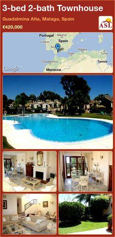 3-bed 2-bath Townhouse in Guadalmina Alta, Malaga, Spain ►€420,000 #PropertyForSaleInSpain