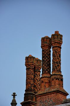 Hampton Court Palace Chimney stacks