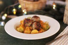 Édesburgonya-főzelék kelbimbóval