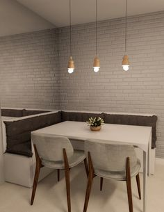 Home Design Decor, Easy Home Decor, Dining Room Bar, Dining Room Design, Decor Home Living Room, Room Decor, Small Apartment Interior, Cuisines Design, Modern Kitchen Design