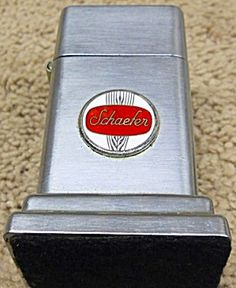 Schaefer Beer Zippo Barcroft Table Lighter