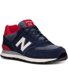 New Balance | Men's 574 Pennant Casual Sneakers from Finish Line #newbalance #sneakers
