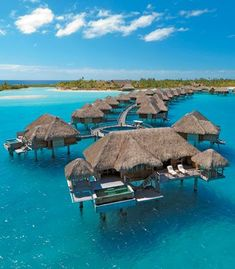 This end bungalow pretty much sums up everything I could ever want. Four Seasons Resort, Bora Bora