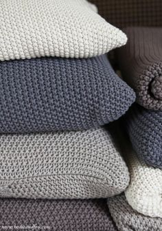 Best Christmast gifts for her, Moss Stitch cotton cushion — Bodie and Fou - Award-winning inspiring concept store