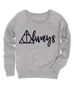 Look at this #zulilyfind! Athletic Heather 'Always' Triangle Slouchy Pullover #zulilyfinds