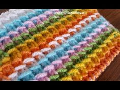 Bargello, Crochet Videos, Crochet Projects, Make It Yourself, Blanket, Knitting, Blog, Crafts, Youtube