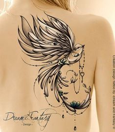 Baby bird tattoo families ideas for can find Bird tattoos and more on our website.Baby bird tattoo families ideas for 2019 Phoenix Bird Tattoos, Feather Tattoos, Body Art Tattoos, Tatoos, Fairy Tattoo Designs, Tattoo Designs For Girls, Design Tattoos, Bird Tattoo Sleeves, Sleeve Tattoos
