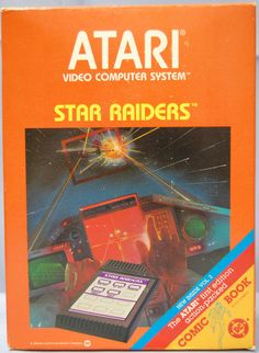 #atari 2600 star raiders 1982  vintage video arcade game 1982 from $12.99