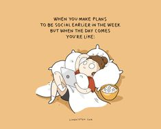 10+ Illustrations Reveal How Introverts Prefer To Spend The Weekend