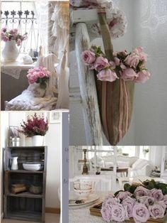 Shabby in love: Flower inspiration