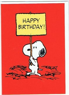 Snoopy and Peanuts - Happy Birthday Greetings Card Happy Birthday Snoopy Images, Bild Happy Birthday, Peanuts Happy Birthday, Snoopy Birthday, Happy Birthday Quotes, Happy Birthday Greetings, Birthday Images, Birthday Messages, Snoopy Quotes
