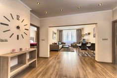 Two-bedroom apartment in Apartments Konvikt 10 Two Bedroom Apartments, 2 Bedroom Apartment, Apartment Interior Design, Prague Apartment, 2nd Floor, Flooring, Modern, House, Inspiration