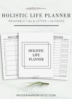 Friday Find: A Holistic Life Planner For the Organizationally Impaired | http://helloglow.co/holistic-life-planner/