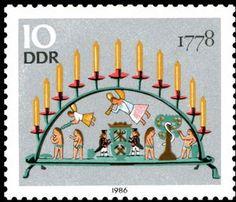 ◇DDR  1986    Candle Arch Erzgebirge