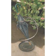 Wrought Iron Umbrella Stand. Customize Realizations. 1018