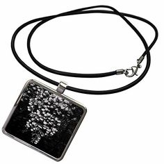 3dRose DYLAN SEIBOLD - PHOTOGRAPHY - HANGING FLOWERS BLACK AND WHITE - Necklace With Pendant 3dRose LLC, http://www.amazon.com/dp/B01M1GWYPM/ref=cm_sw_r_pi_dp_x_p7Fjyb7P594VE