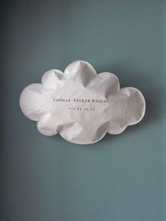 Etsy /// SOUTHERN SKY ART: CLOUDS PERSONALIZED WITH YOUR KIDS NAME