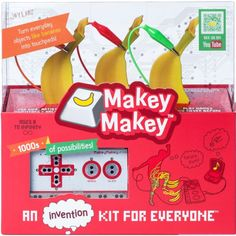 Ever played games on Play-Doh or Piano on Bananas? Makey Makey, an invention kit for everyone, is a simple circuit board that lets you reprogram the world by. Life Size Games, Stem Subjects, Simple Circuit, Dance Games, Computer Programming, Circuit Board, Everyday Objects, For Everyone, Linux