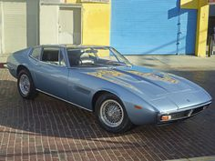 Featured Listing - 1971 Maserati Ghibli Coupe For Sale Maserati Ghibli, Maserati Car, Ferrari, Retro Cars, Vintage Cars, 70s Cars, Chevrolet Monza, Datsun 240z, Car In The World