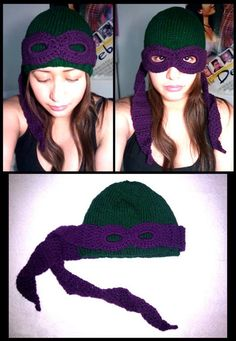 Awesome Ninja Turtles wool cap. This would make such a cool gift!