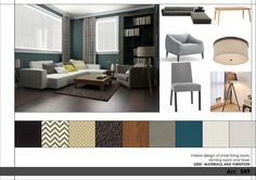 Living Room project in Frederick, US designed by ADG-2000 - Interior Design of small living room, dining room, and foyer