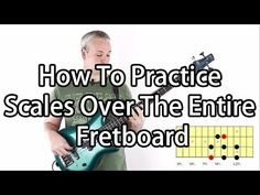 How To Practice Scales Over The Entire Bass Fretboard - The Tri Shape System (L#24) - YouTube