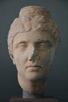 The Empress Faustina the Elder, wife of Antoninus Pius, c. AD 140, Ny Carlsberg Glyptotek, Copenhagen