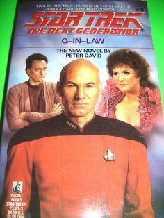STAR TREK Q-In-Law 1ST POCKET BOOKS PRINTING OCT 1991