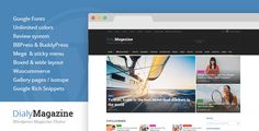 Review DialyMagazine - Clean & Flat Magazine ThemeThis site is will advise you where to buy
