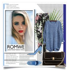 """""""ROMWE"""" by raisaa88 ❤ liked on Polyvore featuring Wallis, Alexander McQueen, Salvatore Ferragamo and romwe"""