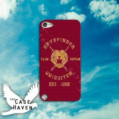 Harry Potter Gryffindor Quidditch Inspired Team by TheCaseHaven, $14.99